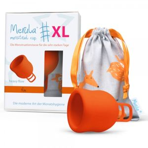 Merula Cup Menstruationstasse XL Farbe - Fox