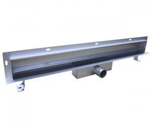 Wandablauf Duschablauf WD-GT01 befliesbar - Länge wählbar, Länge Duschrinne:300mm