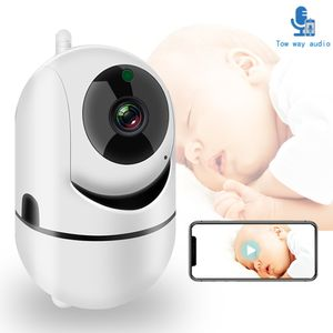 WiFi Babyphone mit Kamera 1080P HD Babyphone Audio Nachtsicht Home Security Baby Telefon Kamera
