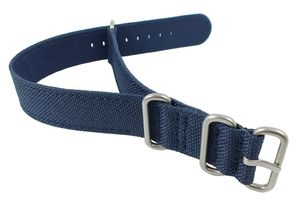 Nautica A10021G 20mm Textil Durchzugsband blau