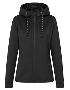 Damen Jacke Recycled Scuba Jacket Women - Farbe: Black Opal - Größe: L