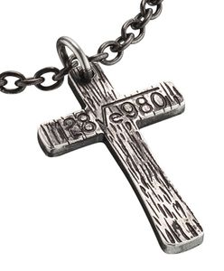 Police Herren Halskette mit Kreuz Anhänger Cryptic PJ25694PSE.01