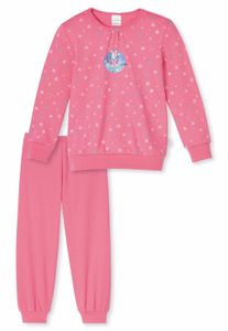 Schiesser  - Mädchen Schlafanzug Gr. 128  * Schneehase