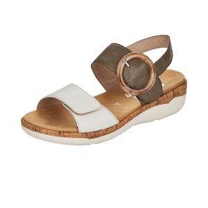 Remonte Damen Sandale in Weiß, Größe 37