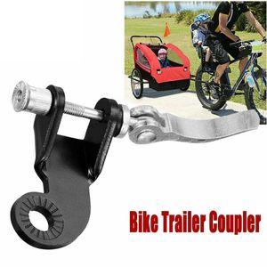 Fahrradanhänger Kupplung für Anhänger Stahlkupplung Kinderfahrradanhänger Fahrrad Anhängerkupplung für  Modelle Doggy Liner Kupplung für Fahrradanhänger