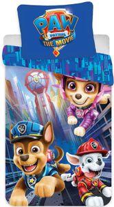 """Paw Patrol Bettwäsche 135x200 / 80x80 """"The Movie"""" zum Kinofilm – 100% Baumwolle -Babybettwäsche zum Wenden von Paw Patrol"""