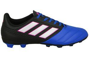 adidas ACE 17.4 FG JR Kinder Sneaker Blau Schuhe, Größe:38 2/3