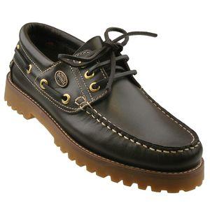 Dockers by Gerli Damen Mokassins Bootsschuhe - Schwarz, Cafe oder Reh, Schuhgröße:EUR 42, Farbe:Brauntöne