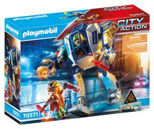 PLAYMOBIL City Action 70571 Polizei-Roboter: Spezialeinsatz