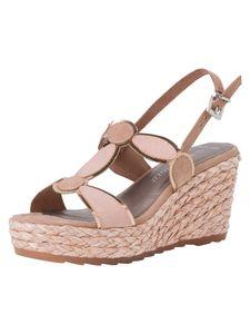 Marco Tozzi Damen Sandalette beige 2-2-28342-26 F-Weite Größe: 39 EU