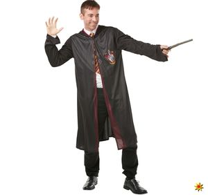 Herren Kostüm Harry Potter inkl. Krawatte und Zauberstab