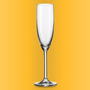 Leonardo Daily Sektglas mit persönlicher Gravur by Ambiente3000 Glas 120 ml