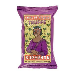 Superbon Chips Trufle Kartoffelchips mit Trüffel würzig knusprig 135g
