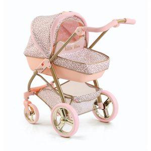 Hauck Little Diva Kinder Puppenwagen Rose 2in1 Puppen Sportwagen Kinderwagen Set