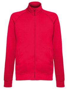 Fruit of the Loom Herren Lightweight Sweat Jacke Pullover, Größe:XL, Farbe:Rot