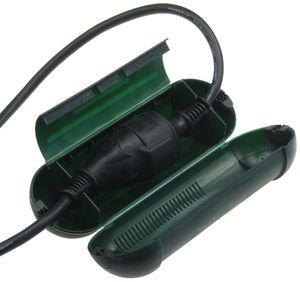 ChiliTec Sicherheits-Schutzbox für Kabel, IP44 205 x Ø 68mm, grün