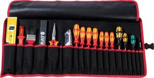Werkzeugrolltasche 20 Fächer B740xH330mm Nyl.schwarz/rot PARAT