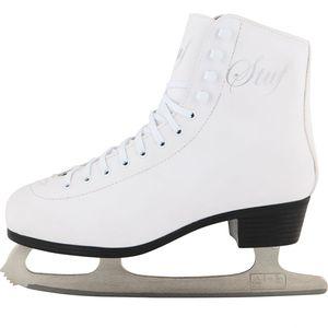 V3 Tec Stuf Figure Skate, Eiskunstlauf-Schlittschuhe weiss 42