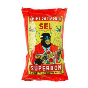 Superbon Chips Sel Kartoffelchips mit Salz knusprig würzig 145g