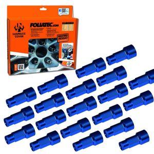 Foliatec   LugNuzz Cover - Blau Eloxiert - SW17 (20 Stk.) (37201)