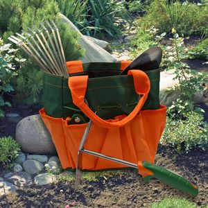 Garten-Kleingeräte Gartenwerkzeug Set 5-teilig Tragetasche Beet Kräuter Pflanzen