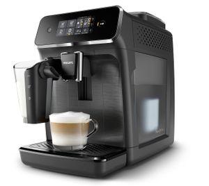 Philips Kaffeevollautomat EP2230/10, Series 2200, schwarz, LatteGo, unser am einfachsten zu reinigendes Milchsystem