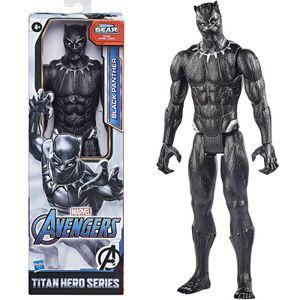 Marvel Avengers Titan Hero Series Black Panther 30 x 10 cm schwarz