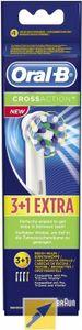 Braun Zahnbürste Zubehör Oral-B Aufsteckbürsten CrossAction 3+1