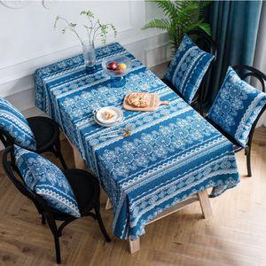Retro Blumentischdecke Baumwolle Leinen Esstischtuchbezug,Farbe: ,Größe:90x90cm