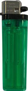 Flame Classics einwegfeuerzeug 8 cm ABS grün