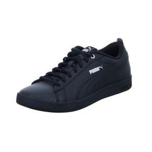 PUMA Smash Wns v2 L Damen Low Boot Sneaker Schwarz Schuhe, Größe:39