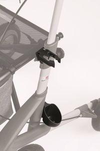 Stockhalter für Rollator Topro Olympos ATR, Troja 5G