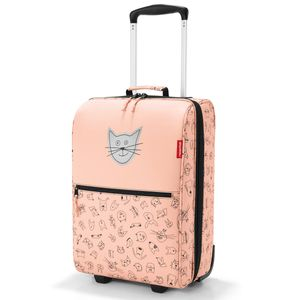Reisenthel Trolley XS Kids Kindertrolley Kinderkoffer Kabinentrolley, Farbe:ABC Friends Pink