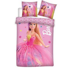 """Barbie - Baby Bettwäsche """"Barbie & Einhorn""""  100x135 & 40x60 cm"""