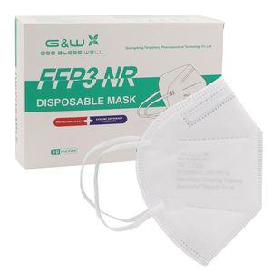 50 FFP3-Masken, FFP3 Atemschutzmaske Maske Schutzmaske CE-, einzeln versiegelt