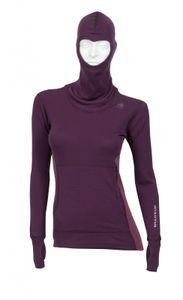 Aclima WarmWool Women's Hood Sweater , Farbe:marengo/ damson, Größe:2XL
