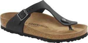 Birkenstock Gizeh Flips Geöltes Leder Normal black Schuhgröße EU 40 (Regular)
