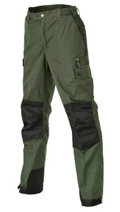 Pinewood 9985 Outdoorhose Lappland Kids Midgreen/Schwarz (138) 164
