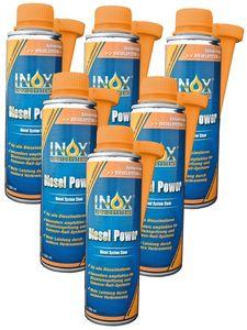 INOX Diesel Power Additiv, 6x250ml - Kraftstoffsystemzusatz für alle Dieselmotoren