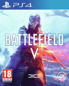 Electronic Arts Battlefield V, PlayStation 4, Multiplayer-Modus, RP (Rating Pending), Physische Medien
