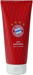 FCB FC Bayern München Showergel Bodywash Duschgel Body and Hair Wash 200ml 2in1
