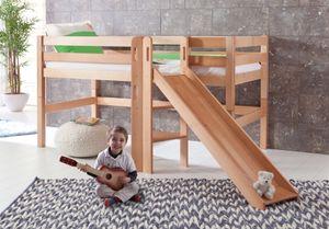 Relita Spielbett Eliyas mit Rutsche, ohne Vorhang
