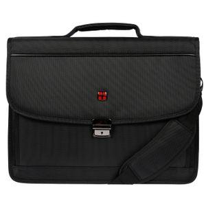 Christian Wippermann Laptoptasche Aktentasche mit Notebook- und Tabletfach Herren Tasche