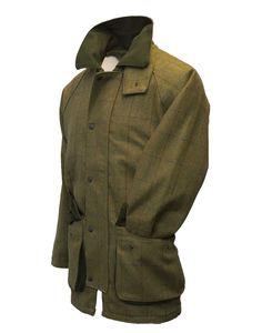 Walker and Hawkes - Walker & Hawkes - Herren Country-Jacke aus Tweed - für die Jagd geeignet - Waldgrün - Größe XL
