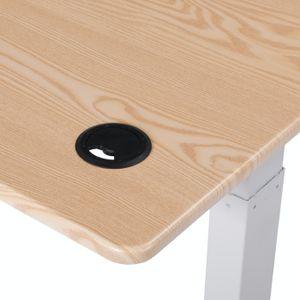 Spherite   Elektrisch Höhenverstellbarer Schreibtisch   118x60   Ergonomischer Steh-Sitz Tisch   mit Memory-Funktion