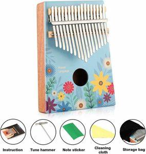 Kalimba 17 Schlüssel Finger-Klavier Marimbas Kinder Musikliebhaber Thump Piano