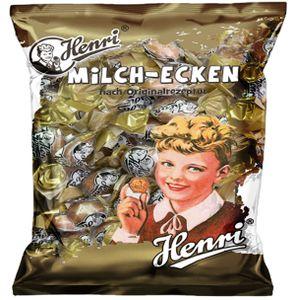 Henri Milch Ecken Hartkaramelle mit gezuckerter Kondensmilch 200g