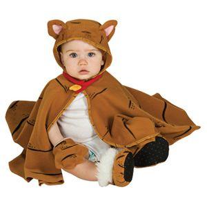 kleiner Tiger Katze Kinder Karneval Fasching Kostüm 3-12 Monate