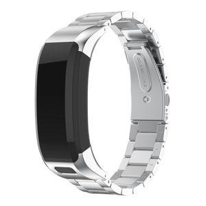 Garmin vivosmart HR Armband Edelstahl silber