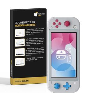 2x Panzerfolie für Nintendo Switch Lite ANTI-SCHOCK Displayschutzfolie HD KLAR